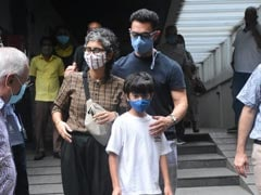 Aamir Khan And Kiran Rao's Lunch Date With Son Azad. See Pics
