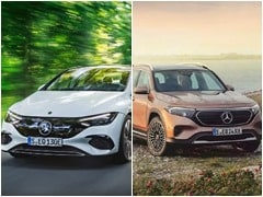 Mercedes-Benz EQE And EQB Listed On The Company's India Website