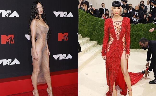 From VMAs To Met, Megan Fox's Epic Swap - The Ultimate Fashion Transformer