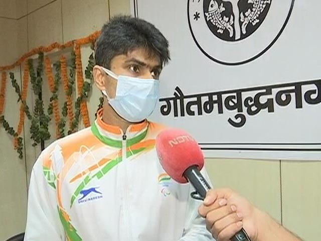 """Video : """"No Greater Feeling"""": Suhas Yathiraj To NDTV On Winning Tokyo Paralympics Silver"""