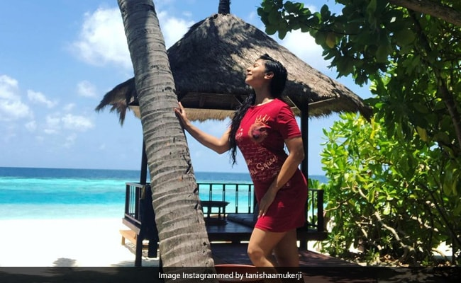 'Here Comes The Sun': Tanishaa Mukerji Shares A Dreamy Pic From Maldives Vacation