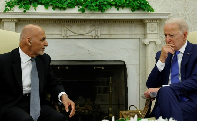 The Last Biden-Ghani Call Before Taliban Takeover: Report