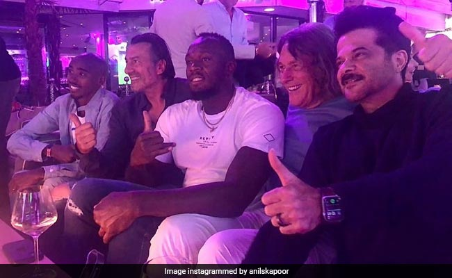 Cheers To Anil Kapoor's 'Legendary Night' With Usain Bolt And Mo Farah In Munich