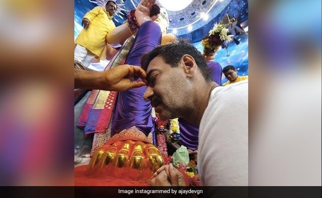 Ganesh Chaturthi 2021: How Ajay Devgn Began The Festivities