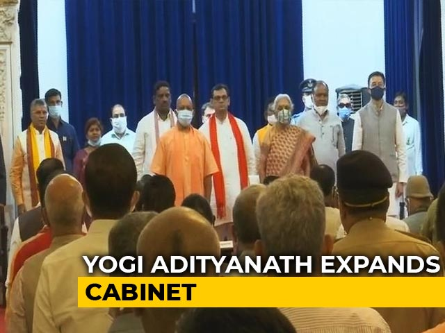 Video : Crucial Cabinet Expansion In UP Ahead Of State Elections