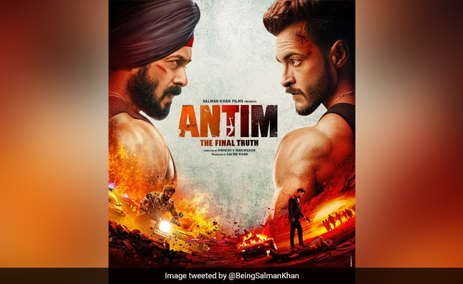 Antim First Poster: In Salman Khan's Quest For 'The Final Truth', Aayush Sharma Is The Face Of Evil