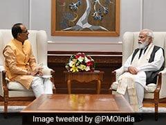 Shivraj Singh Chouhan Meets PM Modi, Discusses Development Issues
