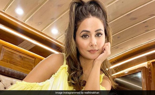 """""""फेल्ट रियली बैड"""": हिना खान ने खुलासा किया कि उन्हें """"डस्की"""" के रूप में अज्ञात भूमिका के लिए अस्वीकार कर दिया गया था"""