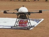 Video : Vaccines Delivered By Drone in 9 Minutes: Blue Dart MD To NDTV
