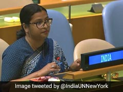 """Pak Supports """"Culture Of Violence"""" At Home, Across Borders: India At UN"""