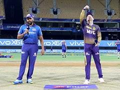 IPL 2021 Live Score, MI vs KKR: Mumbai Indians Aim To Bounce Back To Winning Ways Against Kolkata Knight Riders