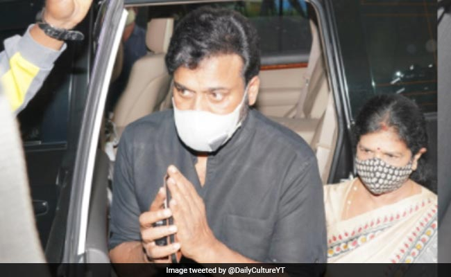 Chiranjeevi's Nephew Sai Dharam Tej Injured In Road Accident, Actor Visits Him At The Hospital