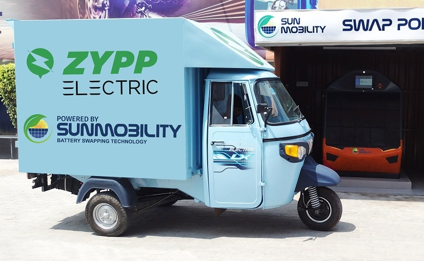 Sun Mobility And Zypp Electric Partner To Deploy 10,000 EVs Across India For Last-Mile Delivery