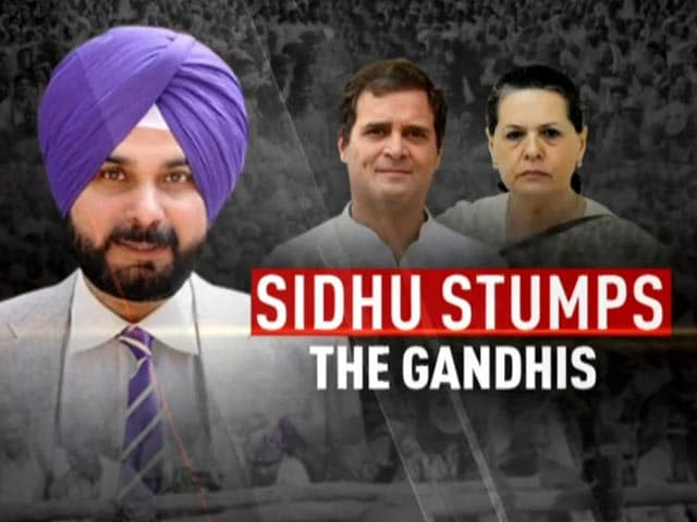 Video : Jolted By Navjot Sidhu, Congress Insists All Will Be Well