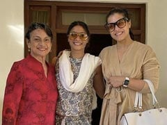 """Pic From Kajol, Tanishaa Mukerji And Tanuja's """"Best Holiday Together So Far"""""""