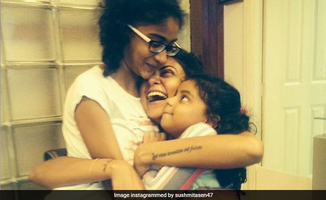 Sushmita Sen's 'Avalanche Of Blessings' For Daughter Renee Is The Cutest Birthday Wish Ever