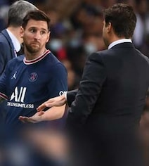 Watch: Lionel Messi's Reaction To Being Subbed Off Goes Viral On Twitter