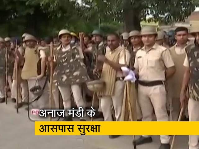 Video : किसानों के प्रदर्शन पर सरकार की कड़ी नजर, किए गए अनाज मंडी के आसपास सुरक्षा के पुख्ता इंतजाम