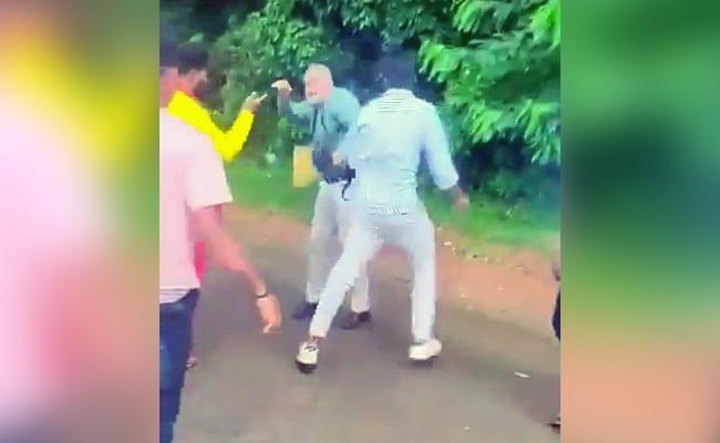 On Camera, Tiger Conservationist, Friend Assaulted In Karnataka