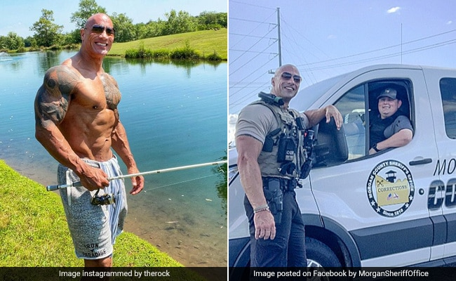 'Oh Sh*t': Dwayne 'The Rock' Johnson Is Stunned By His Doppelganger