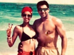 """Ram Kapoor And Wife Gautami In A Major Throwback Pic From 2003. """"Oh My God,"""" Says The Internet"""