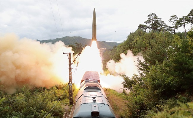 Tested Railway-Borne Missile To Strike 'Threatening Forces': North Korea