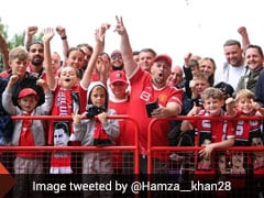 Watch: Manchester United Fans Celebrate Cristiano Ronaldo's Homecoming Before Newcastle Match