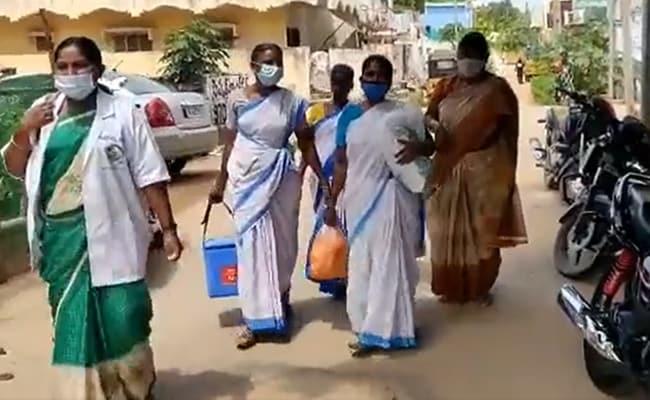 Watch: Not Sabzi Vendors. These Women Make Door-To-Door Push For Vaccines
