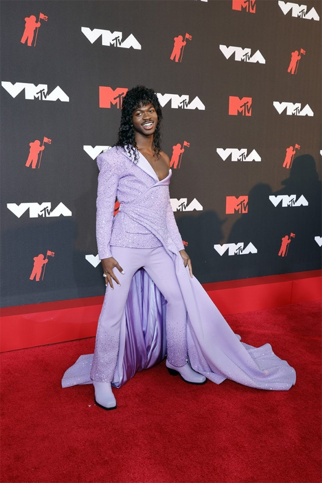""", Met Gala 2021: Lil Nas X """"Pulled A Lady Gaga"""" On The Red Carpet. Twitter Knows,"""
