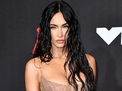 """Megan Fox's Dress Is """"Sheer"""" Bliss With A Very Chic Bold Twist To It"""