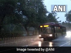 Light Intensity Rain Likely In Parts Of Delhi-NCR Today