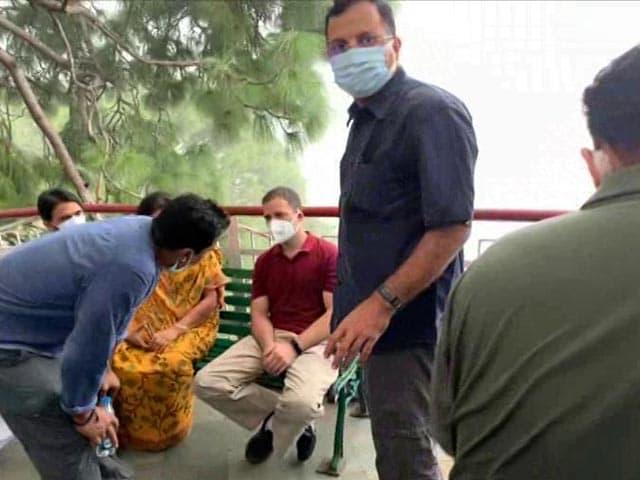 Video : Rahul Gandhi Begins 2-Day Jammu Visit