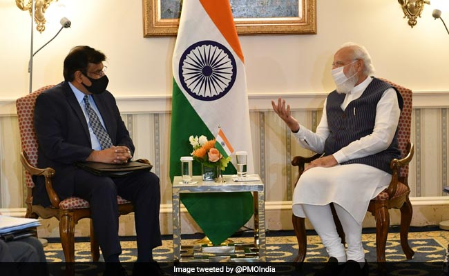 PM Modi Discusses Boosting India's Defence Tech With Top Atomic Firm Head