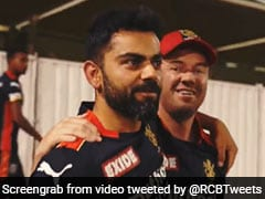 """Watch: """"Smiles, Hugs And Laughter"""" In RCB Camp As Virat Kohli Joins Team After Quarantine"""