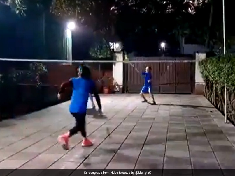 Watch: Mary Kom Playing Badminton With Her Sons Has Twitter Abuzz