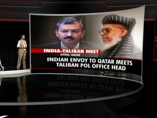 Video : India Officially Talks To Taliban, Raises Safe Evacuation, Terrorism