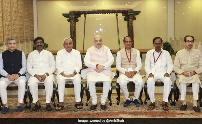 Amit Shah, 6 Chief Ministers Review Security, Development in Maoist-Hit Areas