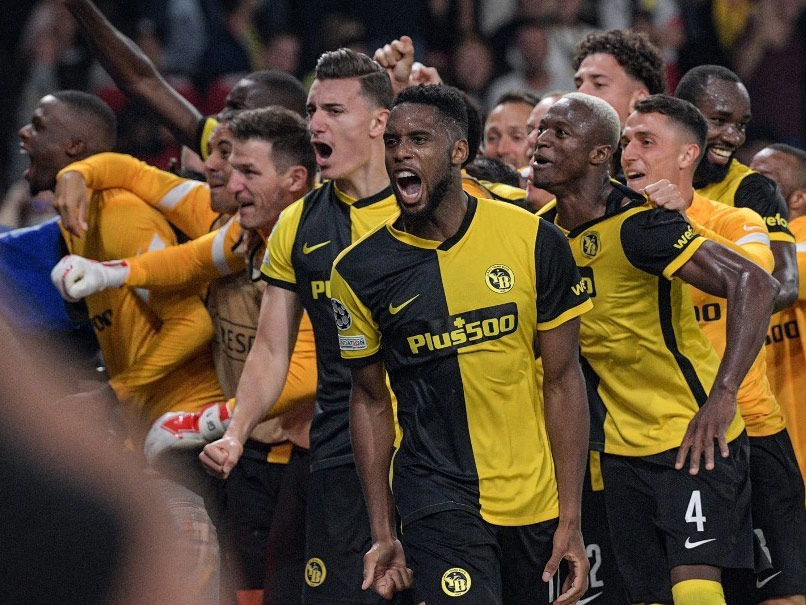 Jesse Lingard Blunder Spoils Cristiano Ronaldos Champions League Return As Young Boys Stun Manchester United
