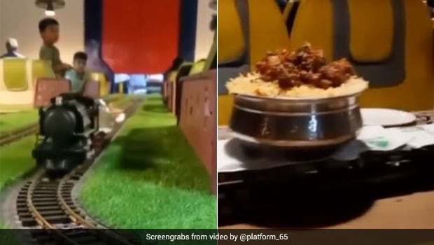 This Unique Restaurant Serves Food On Toy Train, Twitter Approves