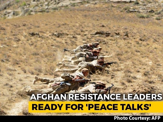Video : Afghan Resistance Leader Asks For End To War, Seeks Talks With Taliban