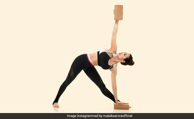Reduce Stress And Anxiety With Trikonasana: Malaika Arora Shows How To Perform This Pose