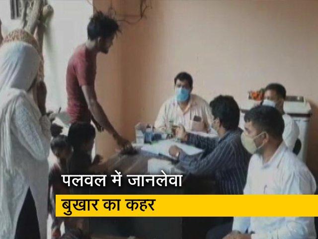 Video : हरियाणा के पलवल में बुखार से 10 दिनों में 8 बच्चों की मौत,मचा हड़कंप