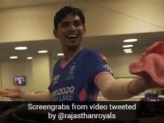"Watch: Kartik Tyagi ""Can't Believe It"" After His Final Over Heroics In RR's Win vs PBKS"
