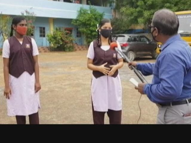 Video : Tamil Nadu Schools Partially Reopen. Tragic Covid Stories Unfold