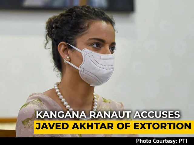 Video : Kangana Ranaut, Javed Akhtar Face-To-Face In Court In Defamation Case