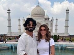 Are Vidyut Jammwal And Nandita Mahtani Engaged? See Trending Pics From Their Taj Mahal Trip