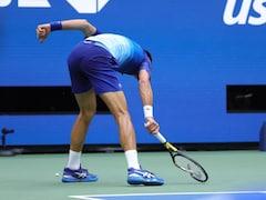 Watch: Novak Djokovic Smashes Racquet In Frustration During US Open Final Defeat To Daniil Medvedev