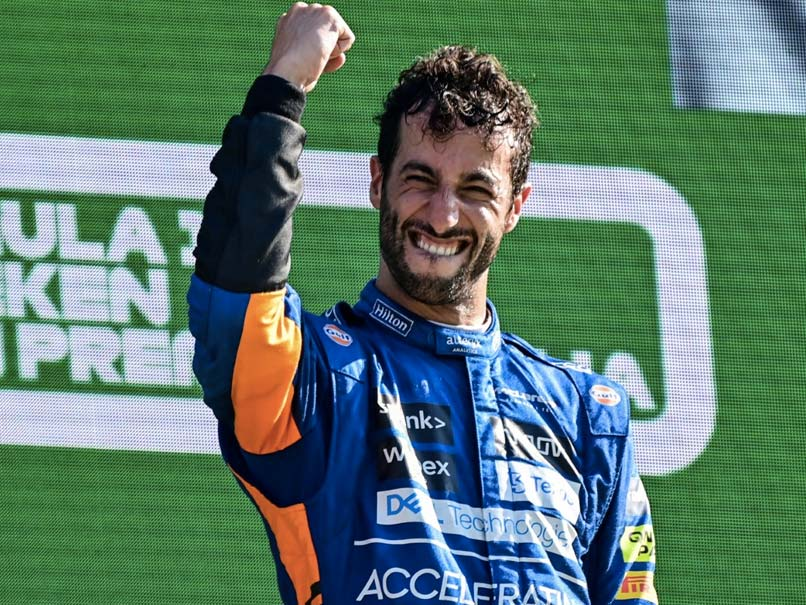 Italian Grand Prix: Daniel Ricciardo Wins As Lewis Hamilton, Max Verstappen Crash Out