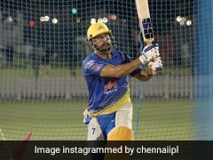 Watch: MS Dhoni Sends Warning With Explosive Hitting In Chennai Super Kings' Practice Match
