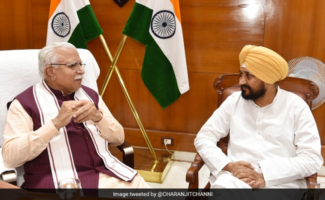 Punjab Chief Minister's 'Courtesy' Call To Haryana Counterpart ML Khattar
